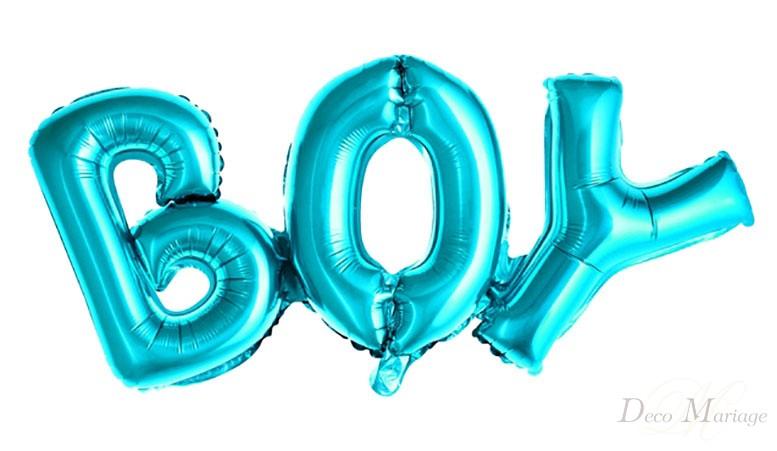 9509293a0d22ae balon foliowy ZESTAW Boy - FB8M * balony na roczek i urodziny ...