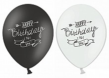 balon    SB14P-258 - HAPPY BIRTHDAY - 10 szt.