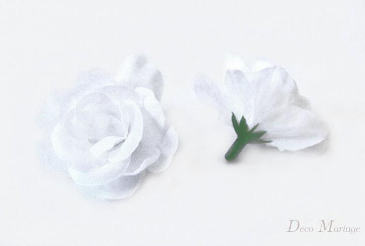 Różyczki 5cm Białe 24 Szt Bluszcz Sztuczny Kwiaty Sztuczne